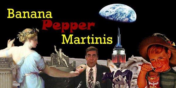 Banana Pepper Martinis