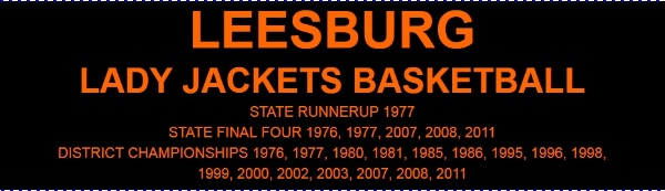 LEESBURG LADY JACKETS BASKETBALL NEWS