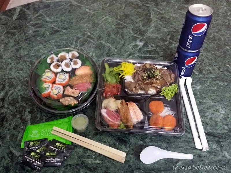 Sakae Sushi delivery from foodpanda