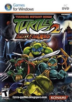 Teenage Mutant Ninja Turtles 2: Battle Nexus PC Cover