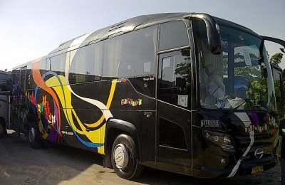 Bus Pariwisata Warga Baru
