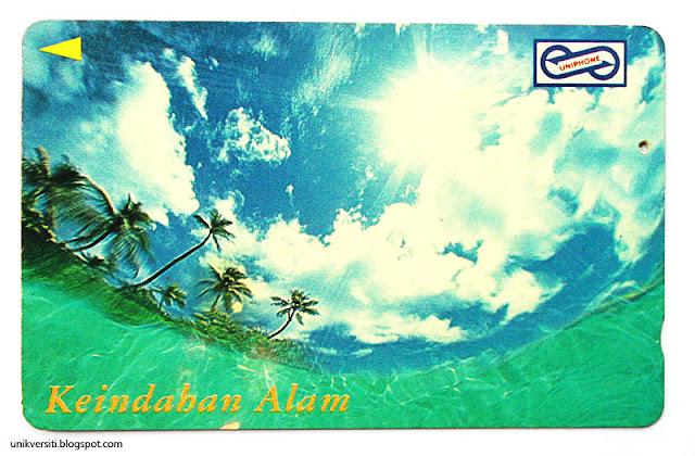 kad telefon awam Malaysia - Keindahan Alam