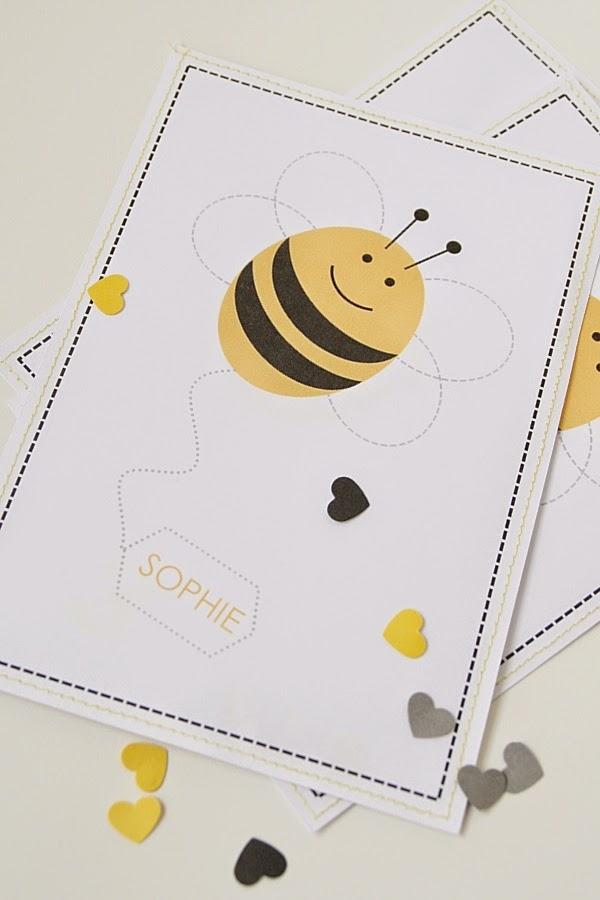 Schön Geschwisterherz: Bald 3.einladung Zum Bienenfest!, Einladung