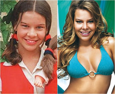 Fernanda Souza antes da fama plastica