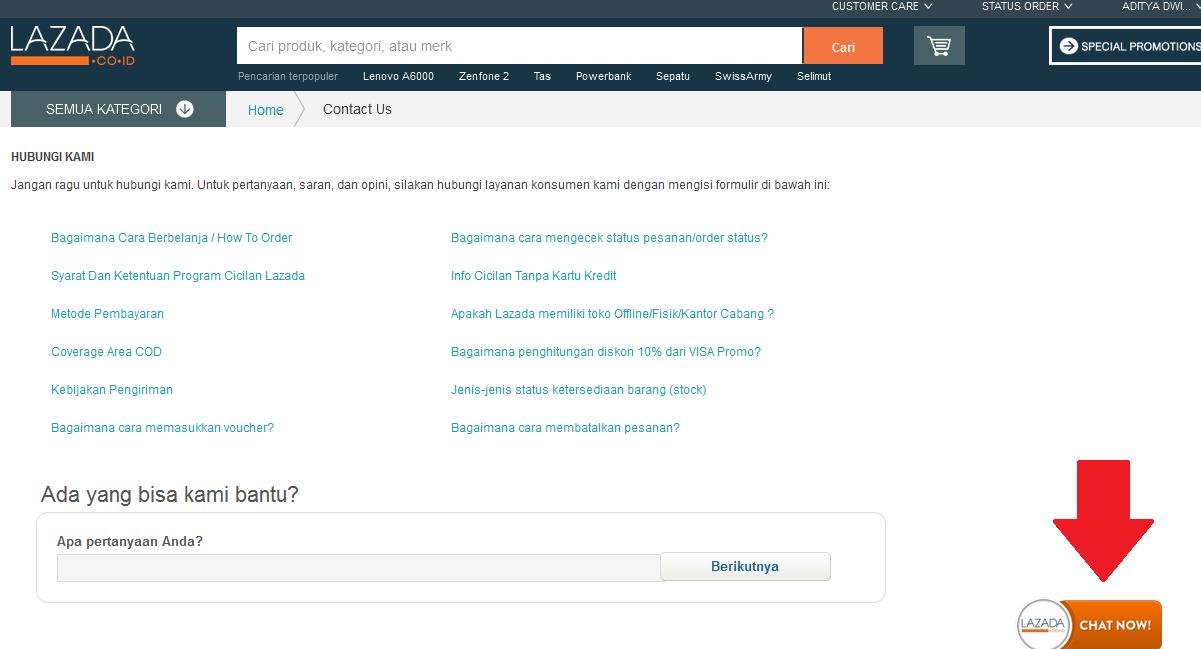 Cara Menyampaikan Keluhan Komplain di Lazada.co.id