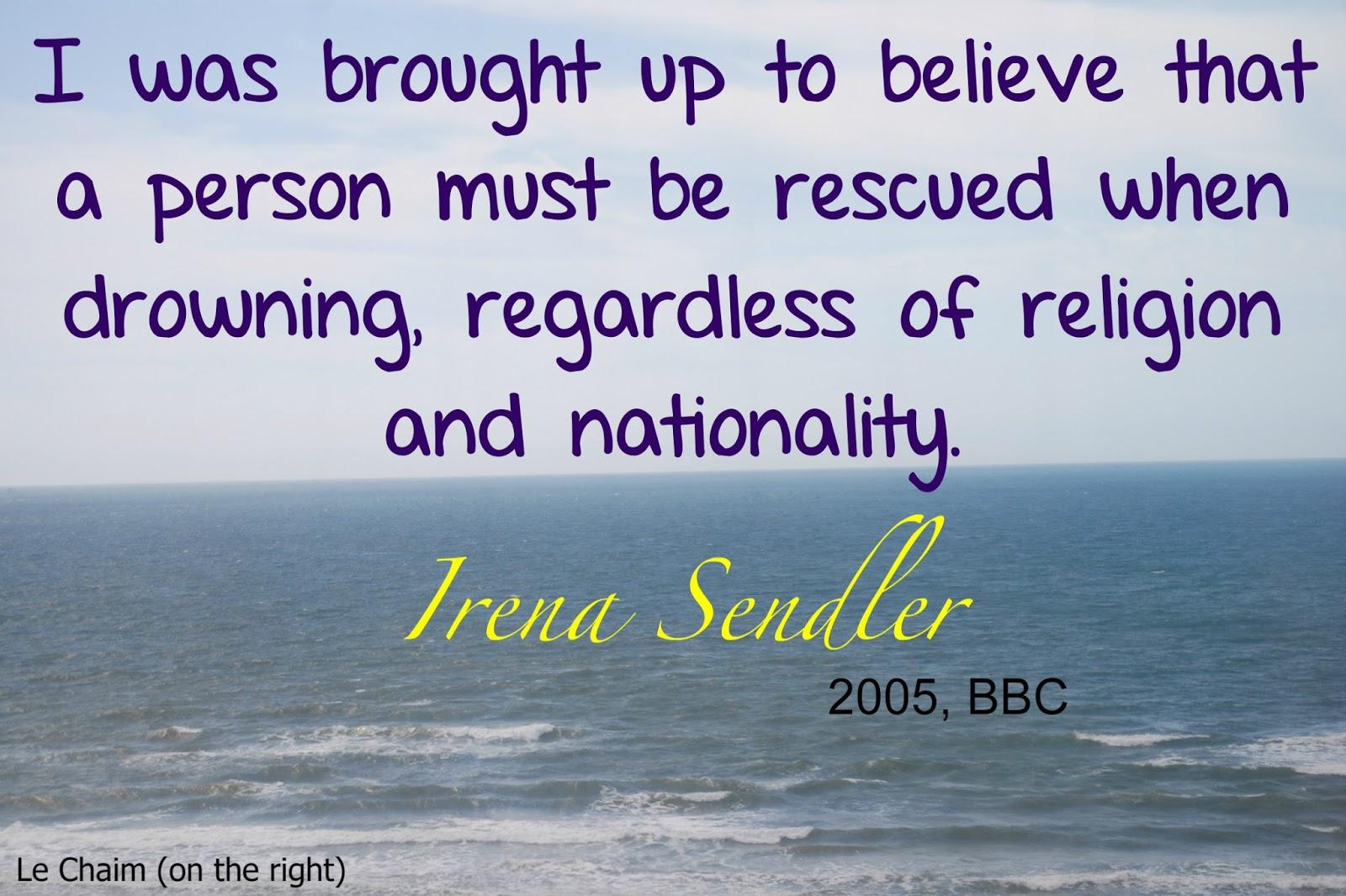 Irena Sendler Quotes. QuotesGram