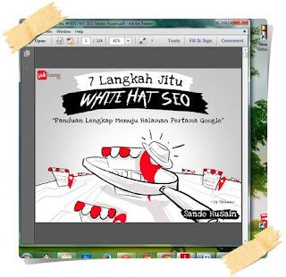 Ebook White Hat SEO Panduan Menuju Halaman Pertama Google