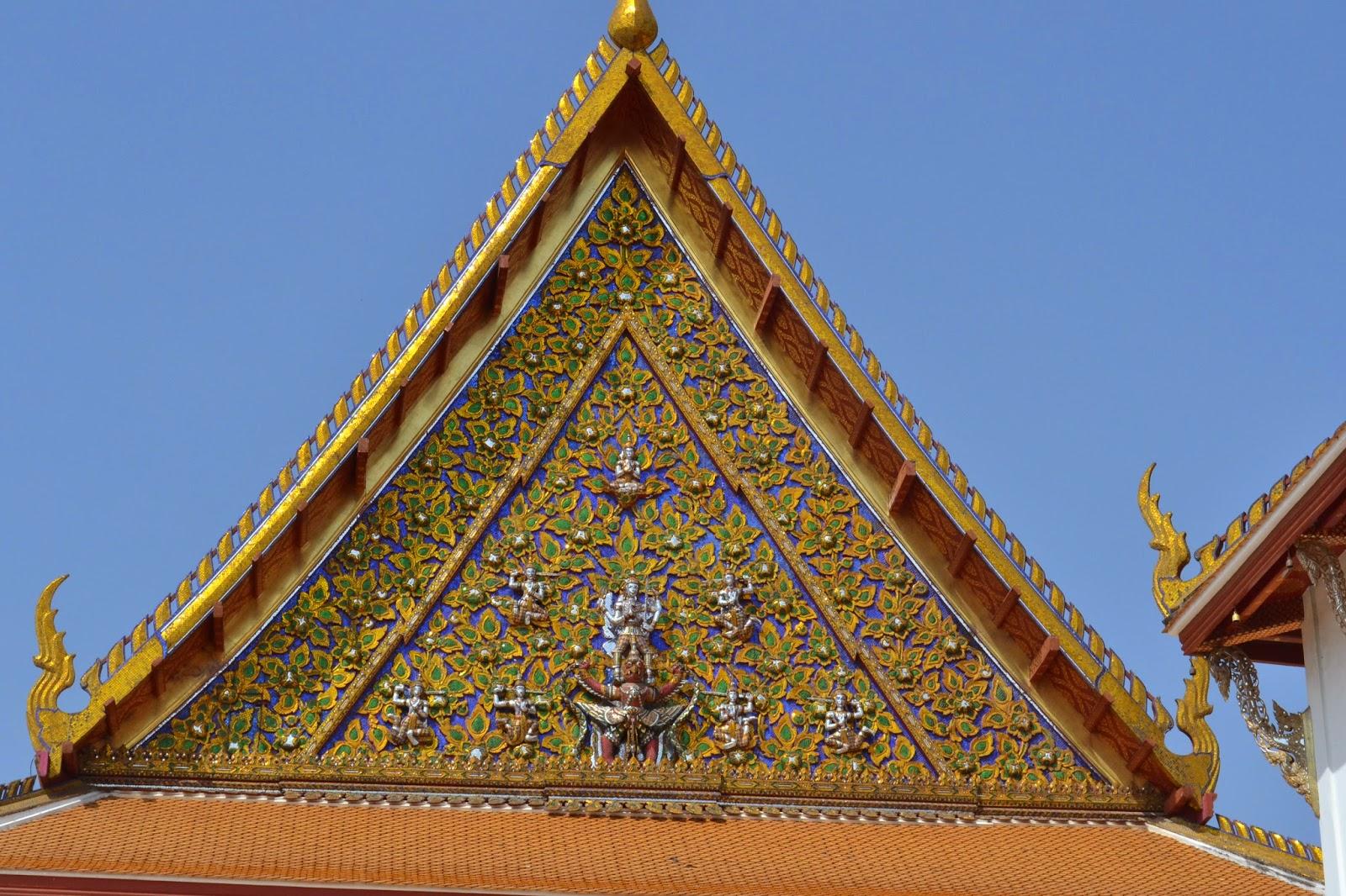 bangkok, voyage, quartier des temples, temples, grand palais