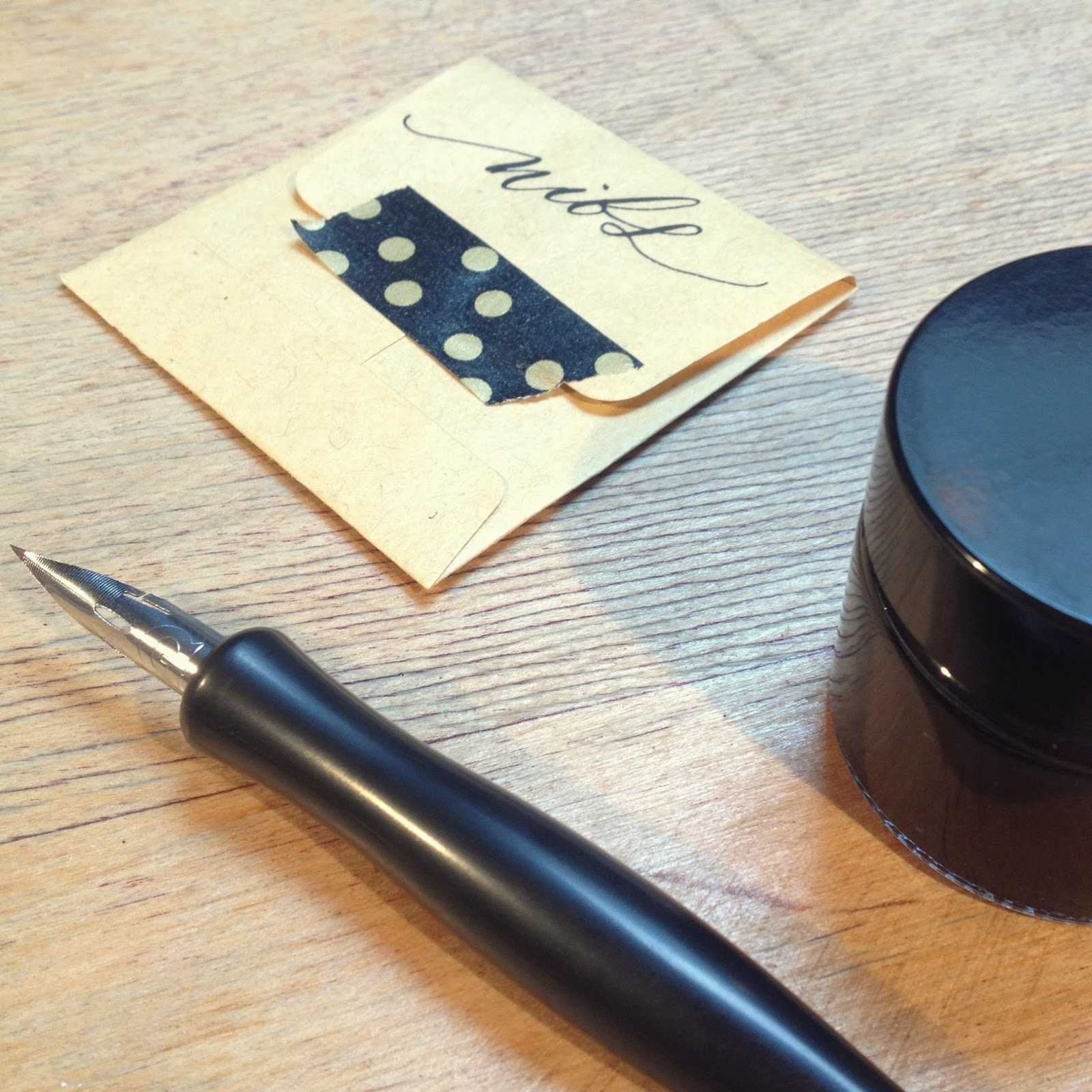 Modern calligraphy at quill london lily lipstick
