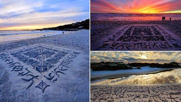 Keindahan Pesisir Pantai dan dimadukan dengan Karya Seni