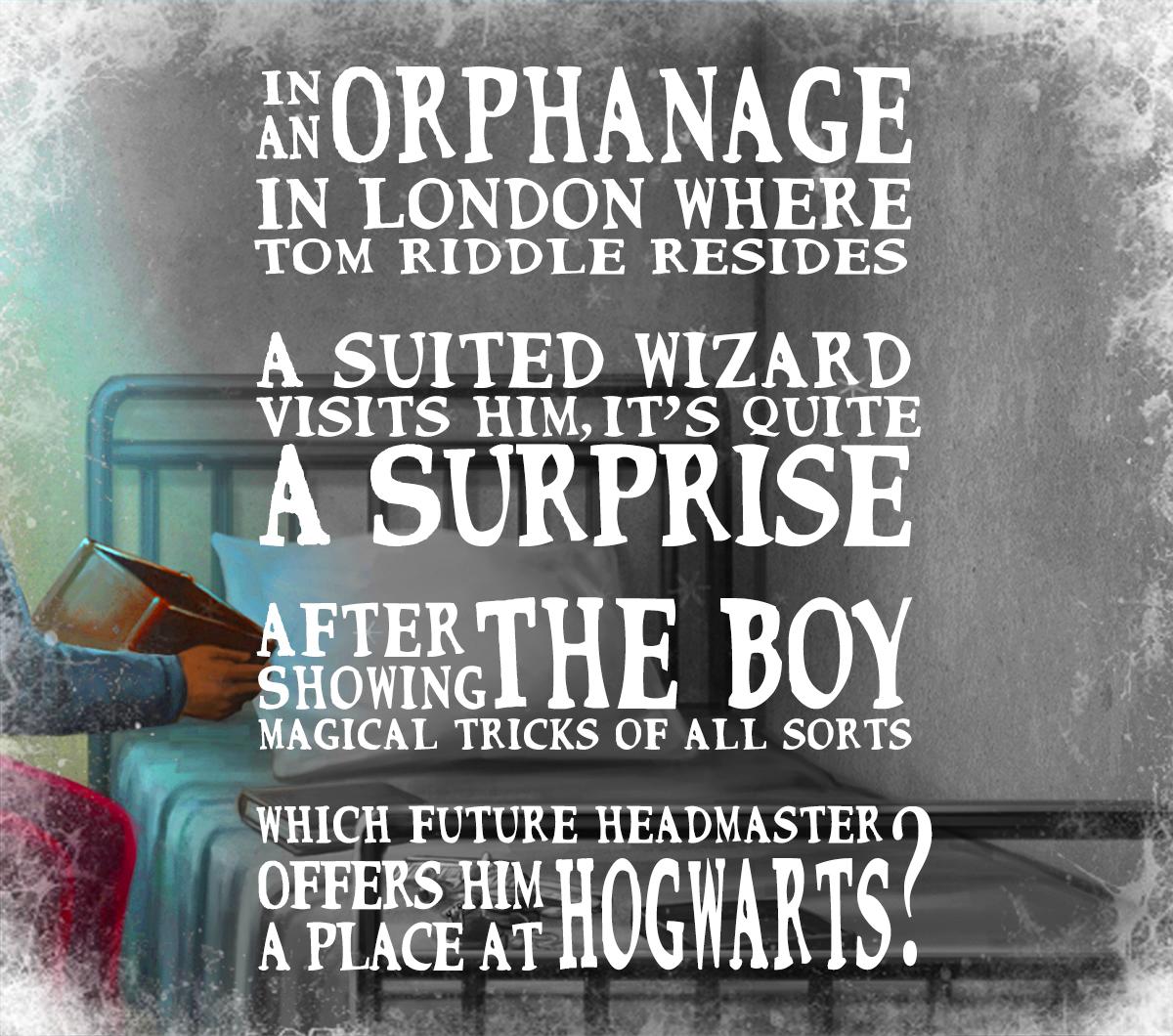 V° regalo. La risposta è: professor Dumbledore