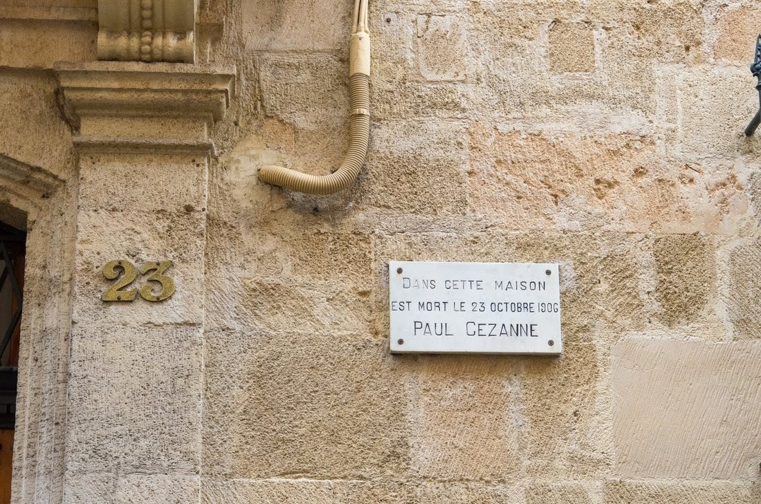 Aix en Provence - maison de Cezanne