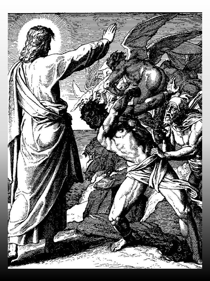 Resultado de imagen de Jesucristo domina espíritus malignos