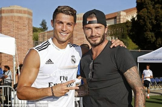 David Beckham Optimis Bisa Bajak Ronaldo ke MLS