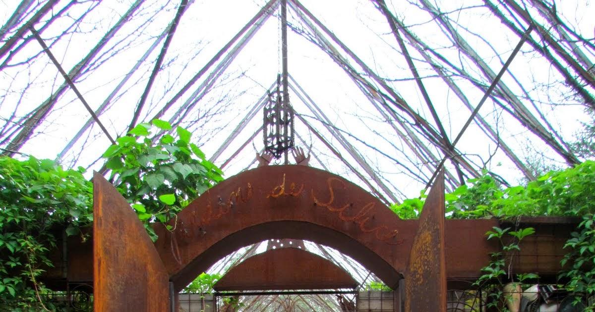 paradis express: Jardin de Silice, Val David, Canada