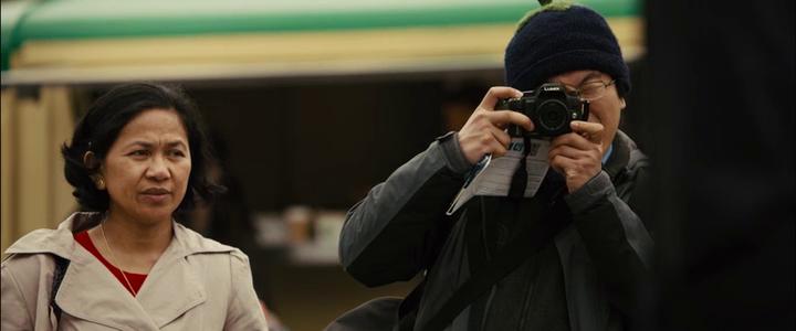 Sunshine on leith 2013 film japanese tourists screenshot
