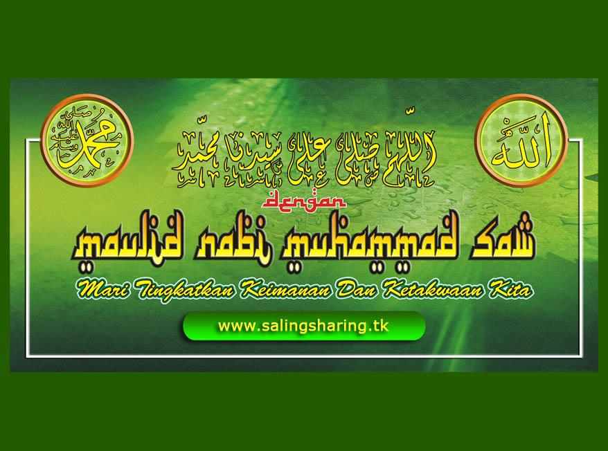 Peringatan maulid nabi muhammad saw 2012 / 1433 H  Saling Sharing