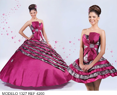 3a3a627ae Empezare subiendo vestidos de XV años desmontables