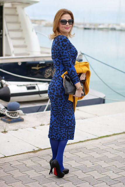 glamorous dress, Bankfashion.co.uk dress, animal print bodycon dress, Fashion and Cookies, fashion blogger