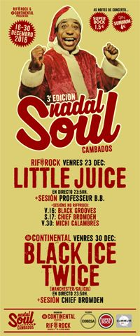 LITTLE JUICE (23 dec) concerto Nadal Soul 2016