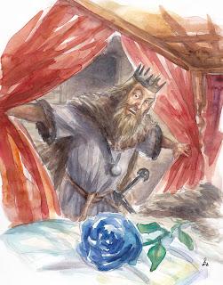 Lord Brandon Stark encuentra rosa invernal - Juego de Tronos en los siete reinos