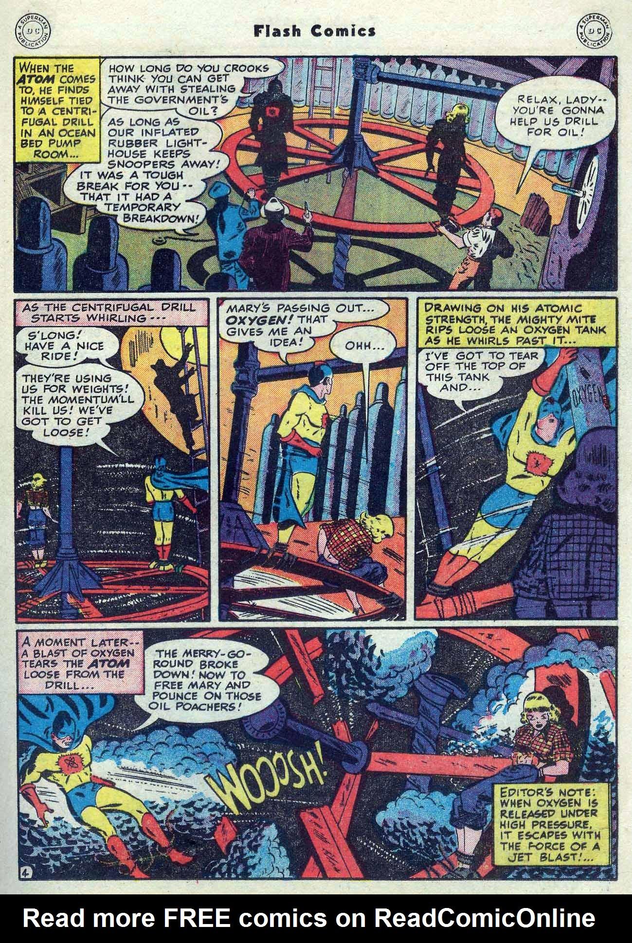 Flash Comics Issue #104 #104 - English 35