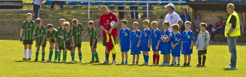 Utánpótlás (gyerek) foci Válban