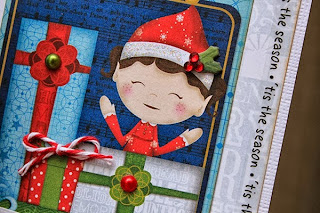 SRM Stickers Blog - Christmas Cards by Juliana - #cards #christmas #stickers #twine
