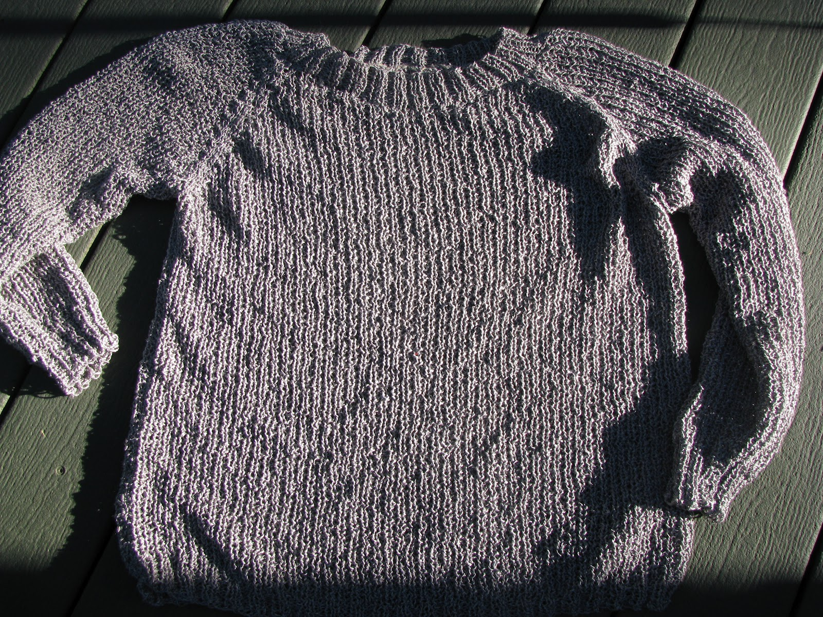 Knitting In The Round Sweater Patterns : Chris knits in niagara million hits sweater