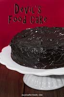Diabelskie ciasto czekoladowe - Devil's Food Cake