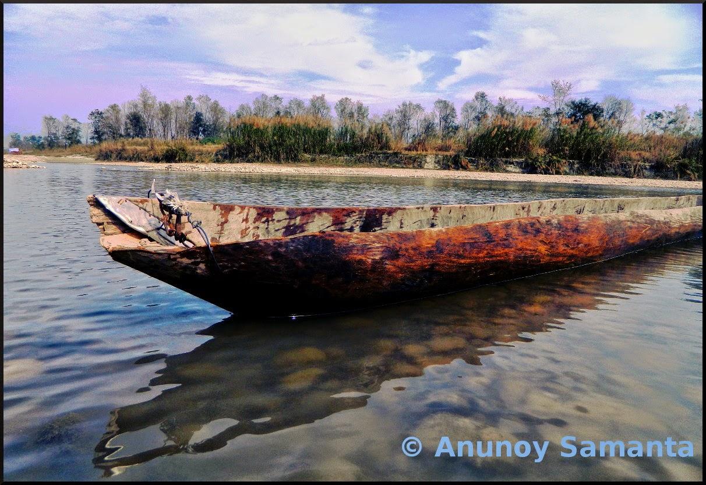 The Resting Canoe
