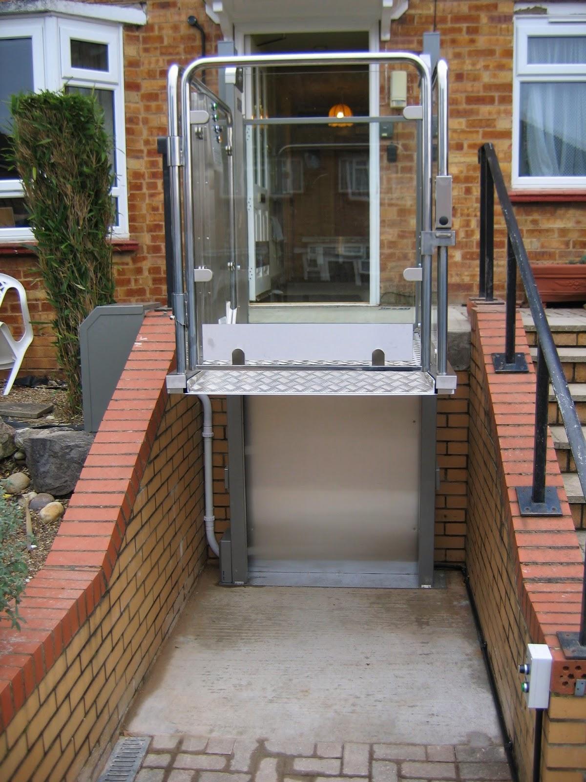 Platform Lift for Steps