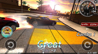 Screenshots of the Drift girls for Android tablet, phone.