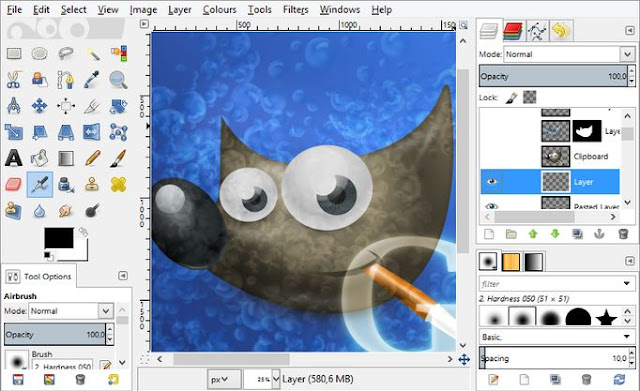 gimp gnu image manipulation program top free software simple to use similar to microsoft paint available on windows