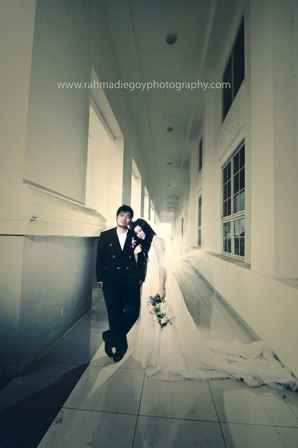 foto prewedding konsep gaun eropa 10
