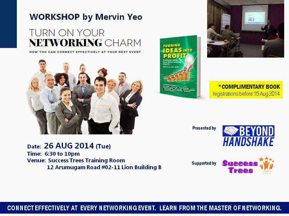 networking training workshop singapore