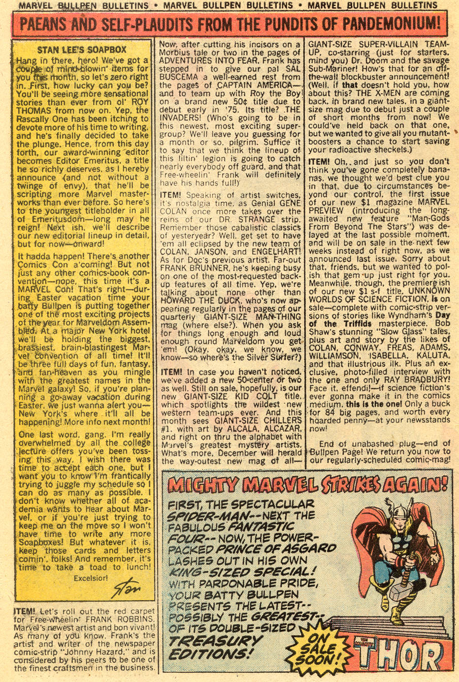 Conan the Barbarian (1970) Issue #47 #59 - English 20