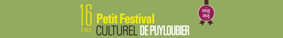 Le Petit Festival Culturel de Puyloubier