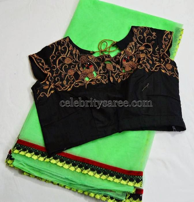 Pretty Blouse Designs by Srihita