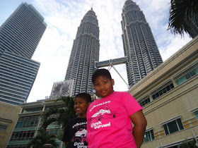 The Twin Girls Under The Twin Towers