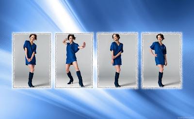 Kristin Kreuk Fantastic Actress Wallpaper