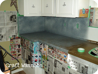 Countertop Paint Canadian Tire : ... paint. As well as taping off the window, outlets and moving the
