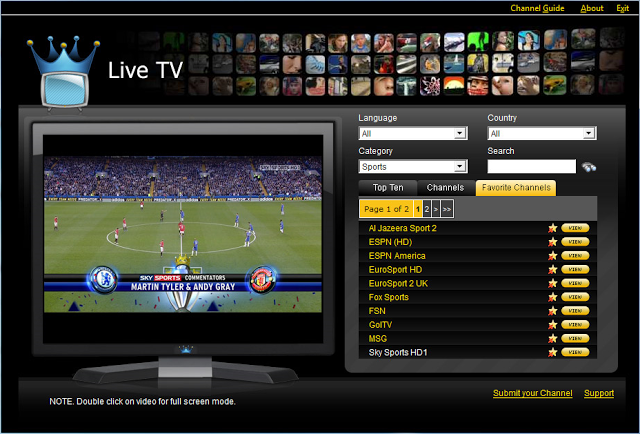 live online sports tv