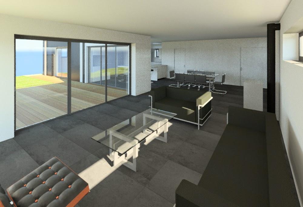 Jacques lenain architecte lille construction d 39 une maison - Extension cuisine sur jardin ...