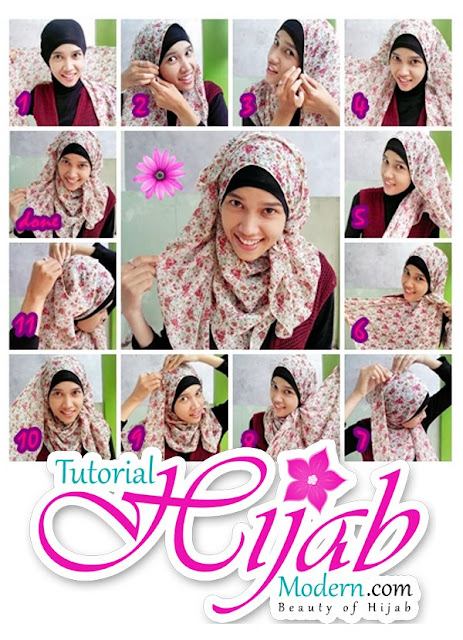 Tutorial Hijab Sederhana