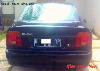 dijual suzuki baleno tahun 2000