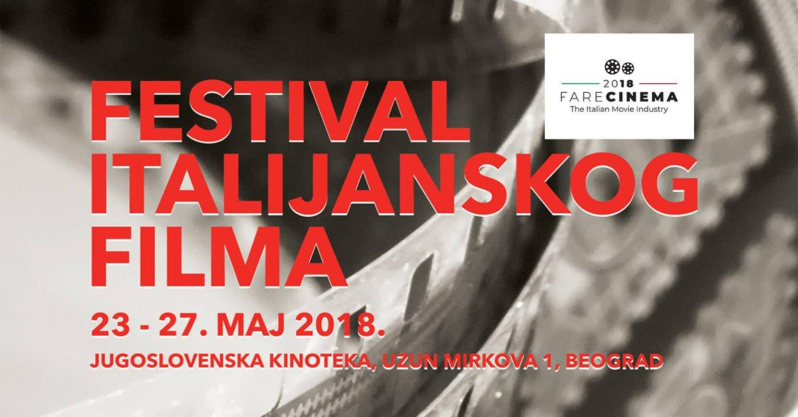 Festival italijanskog filma у Kinoteci