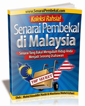 koleksi rahsia senarai pembekal di malaysia
