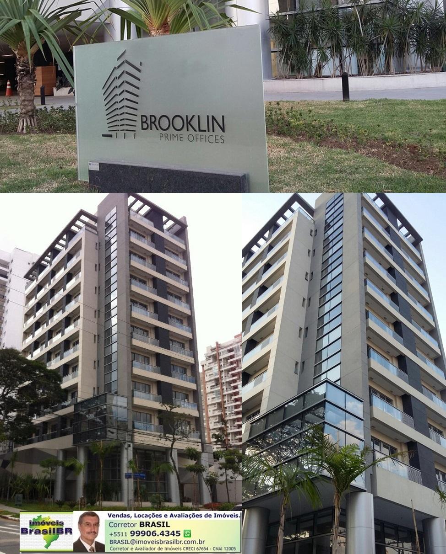 BROOKLIN PRIME OFFICES Salas Comerciais de 34 a 380m² *, no Brooklin-São Paulo-SP-Brasil