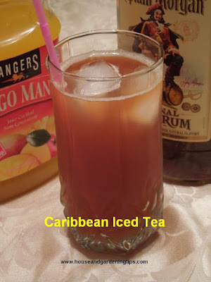 Drinks, Alcoholic beverages, Caribbean Iced Tea,